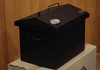 Коптильня окрашенная 400х300х310 мм домик с термометром