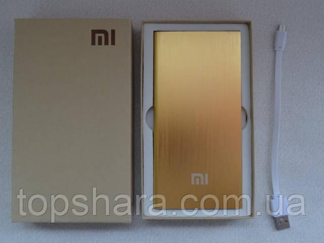 Power Bank Xiaomi MI 28000mAh Павер банк, цвет золотой