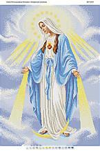 Схема для вышивки бисером Непорочное Зачатие Пресвятой Девы Марии