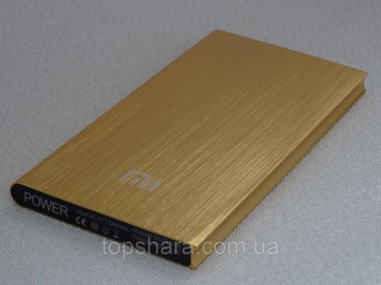 Внешний аккумулятор Power Bank Xiaomi Mi 28000 mAh золото