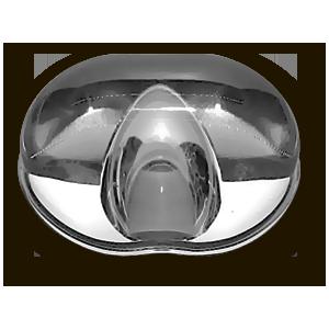 Линза из сверхпрочного боросиликатного стекла несклонного ко помутнению