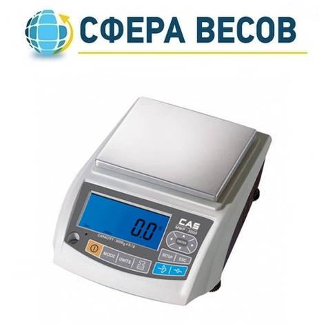 Весы лабораторные CAS MWP-1500 (1500 г), фото 2