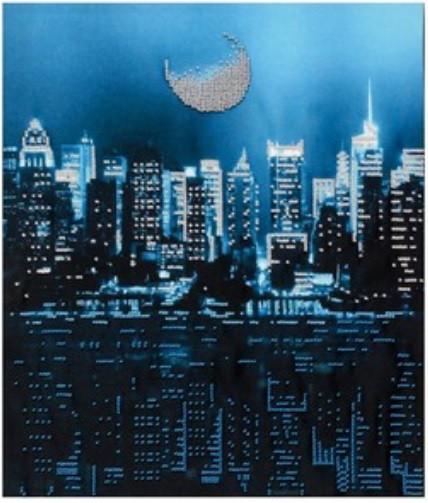 """Схема для вышивки бисером """"Огни большого города"""" (Т-0974)"""