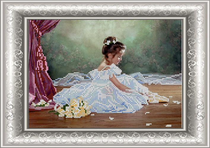 СКМ-150. Схема для вишивки бісером Балерина