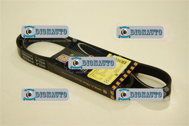Ремень привода 1225 без ГУРа 405, 406 HOLA ГАЗ-2705 (ГАЗель) (406.1308020-10)