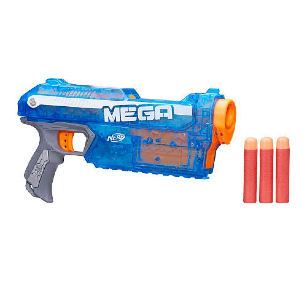 Nerf Бластер Ледяной Магнус N-Strike Elite Mega Series Sonic Ice Magnus Blaster