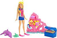 Barbie Барби Магия дельфинов Сокровища Dolphin Magic Ocean Treasure Playset Y9347, фото 1