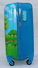 Набор Чемодан+ранец дорожный детский 52 см ручная кладь с кодовым замком Миньон 1886-1, фото 2