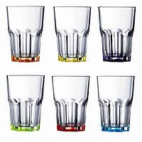 "Набор стаканов стекло ""Luminarc. Брайт Колорс Новая Америка"" (6шт) 350мл 17775 / 8932"