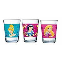 """Набор стаканов стекло дет. """"Luminarc.Disney Princess Royal"""" 160мл 12635 / J3996"""