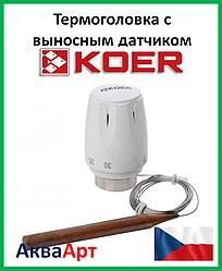 Koer термоголовка с выносным датчиком M30x1.5 KR1331