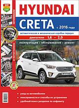HYUNDAI CRETA  Модели с 2016 года  Эксплуатация • Обслуживание • Ремонт