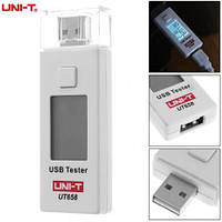 USB тестер тока и напряжения UNI-T UT658 для проверки зарядок/кабелей/Power Bank