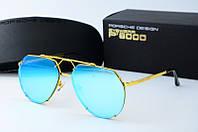Солнцезащитные очки Porsche Design голубые, фото 1