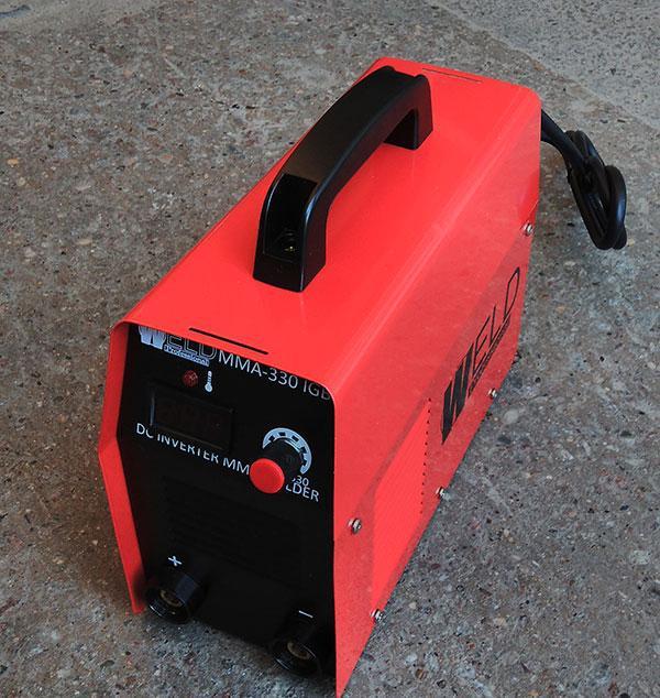 Сварочный инвертор WELD ММА-330 IGBT (кейс)
