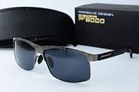 Солнцезащитные очки прямоугольные Porsche Design серые, фото 1