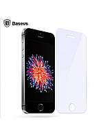 Защ.стекло Baseus Anti Blue Light Protection Tempered Glass Film 0.3mm для Iphone 5/5c/5s/SE Transpa