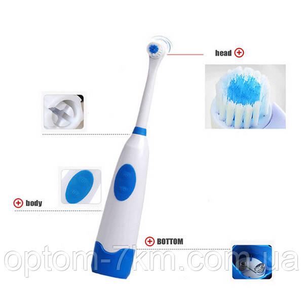 Зубная Щетка на Батарейках  Electric Revolve Brush S