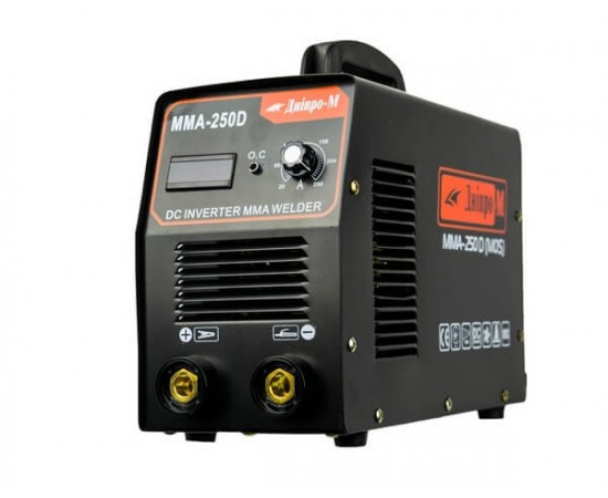 Сварочный инвертор Днипро-М (MOS) MMA-250 DB(дисплей,кейс)