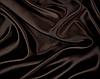 Атласна тканина коричнева