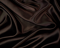 Атласна тканина коричнева, фото 1