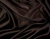 Атласная ткань коричневая, фото 1