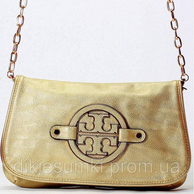 49adae181682 Женская сумка - клатч Tory Burch золотистый в Интернет-магазине ...