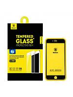 Защитное стекло Baseus Silk-screen 0.3mm для Iphone 6/6S Black