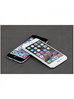 Защитное стекло Rock (2.5D) с изогнутыми краями для Iphone 6/6S Plus (кольцо для камеры) белый, фото 1