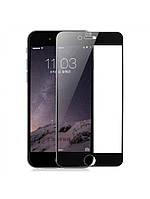 Защитное стекло Baseus 0.3 mm silk screen full fitting flexible-glue для Iphone 6/6S черный, фото 1