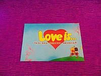 Чековая книжка желаний Love is