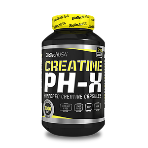 Креатин BioTech Creatine pH-X 210 caps