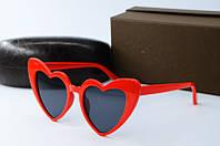 Солнцезащитные очки YSL красные, фото 1