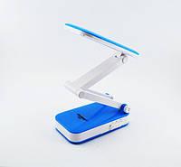 Аккумуляторная настольная светодиодная лампа - трансформер для маникюра, рабочего стола, фото 3