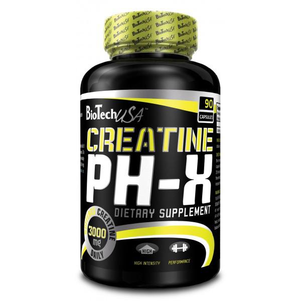 Креатин BioTech Creatine pH-X Pro 120 caps