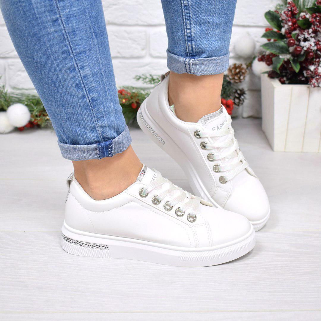 140ddc61 Купить Кроссовок кед женский Miracle белый, обувь женскую по низкой ...