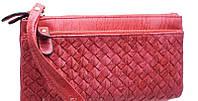 Женские бумажники и кошельки с карманом для телефона 19*9 (красный)