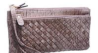 Женские бумажники и кошельки с карманом для телефона 19*9 (хаки)