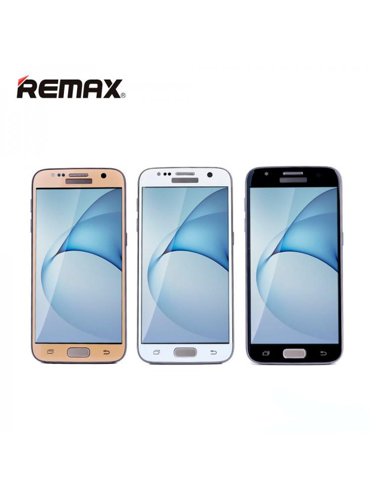 Защитное стекло Remax Top series 3D Curved tempered для Samsung Galaxy S7 белый