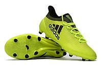 Футбольные бутсы adidas X 17.1 FG Solar Yellow/Legend Ink/Legend Ink, фото 1