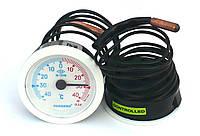 Pak 52/40/1m  — Термометр капиллярный d=52мм, -40°C … +40°C, L капилляра 1000мм, класс точности KL 2,0