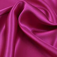 Атласная ткань малиновая
