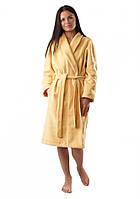 Теплый плюшевый женский халат (S-XL)