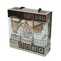 Набор полотенец для кухни Nilteks Coffee 35*50см 3шт