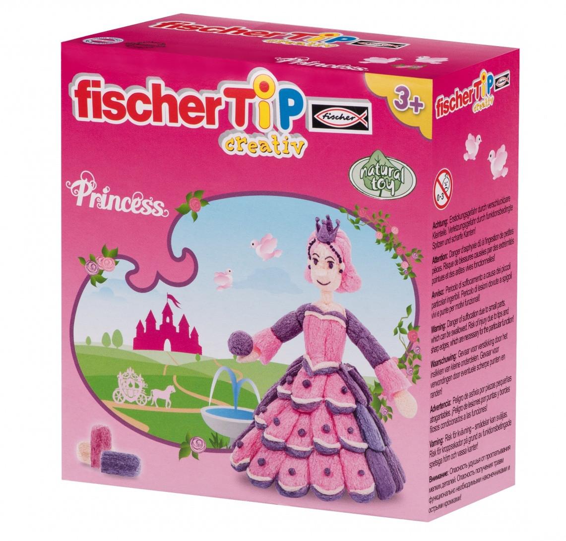 Набор блестящий для творчества TIP Princess Box S fischerTIP FTP-533453
