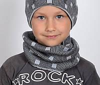 Детский вязанный хомут , фото 1