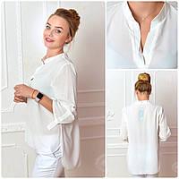 Блузка женская, модель 749, молочный, фото 1