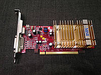 ВИДЕОКАРТА Pci-E RADEON X 1550 на 128 MB с ГАРАНТИЕЙ ( видеоадаптер X1550 128mb  )