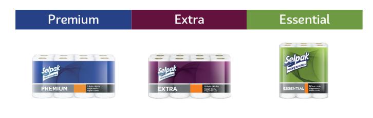 Бумага туалетная Selpak Pro Premium трехслойная 3 слоя 18,6 м супербелая целюлоза - фото 2