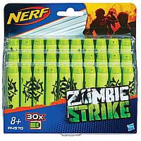 Набор стрел для бластеров Nerf Зомби страйк 30 шт. Оригинал Hasbro A4570